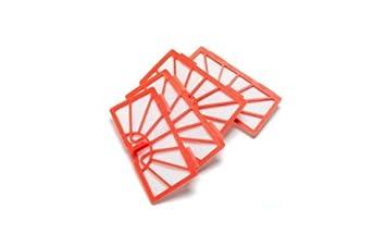 Neato Robotics - Juego de filtros de recambio para aspiradoras XV15 y XV25, color naranja: Amazon.es: Hogar
