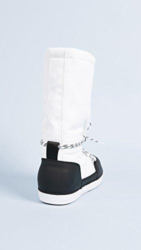 Stivali Da Cacciatori Cacciatori Stivali Da Neve Originali Da Donna Bianco / Nero