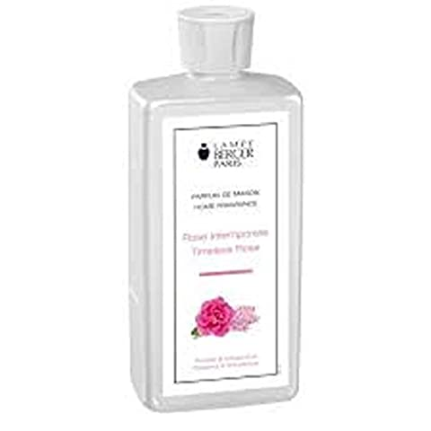 Lampe Berger Fragrance,33.8 Fluid Ounce, Timeless Rose (Odor Eliminated Candle)