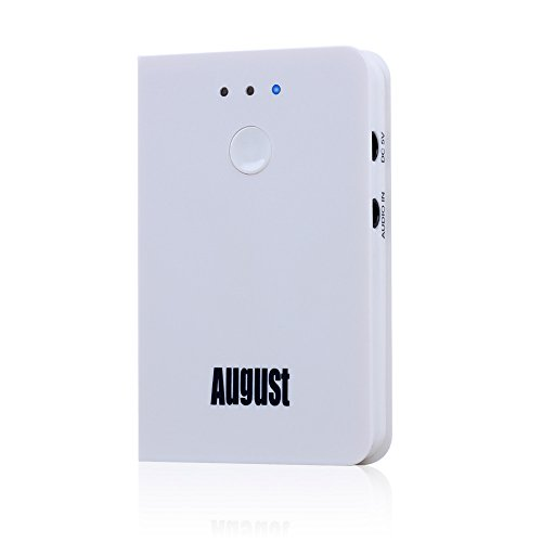August MR250 Bluetooth Wireless Transmitter for August EP650