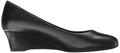 Pump Leather Catrin Wedge Black Rockport Motion Women's Total a0qwxwTXA