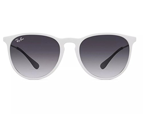 Ray-Ban RB4171 Authentic Womens White Sunglasses, Gold Temples. Color White - Gold White Sunglasses Ray Ban