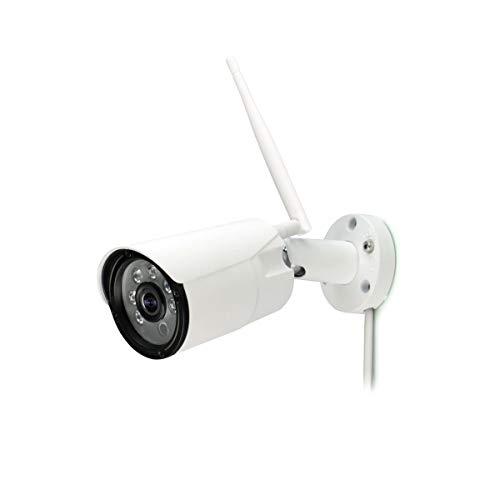 Titathink Full HD NV 1080P Wireless Wi-Fi Waterproof Security Camera, White (1080P Wireless Sharp Image Security Cam)