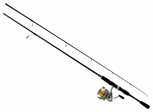 Daiwa REV25-4BI G702M Revros Freshwater Spinning Combo, 4Rb 1Rb Bearings, 7 Length, 2Piece Rod, Medium Power