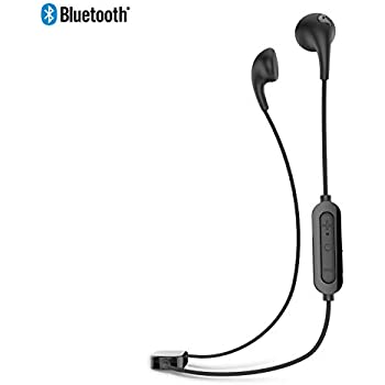 iLuv Wireless Bluetooth Stereo Earphones with Enhanced Soft Touch Rubber-Coating, Hands-free