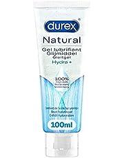 Durex Glijmiddel Natural - Hydraterend - 100% natuurlijk - waterbasis - 100 ml