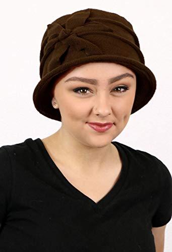Hats Headwear - Fleece Flower Cloche Hat for Women