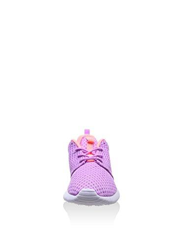 Nike Wmns Rosherun Br - Zapatillas para mujer Lila / Rosa