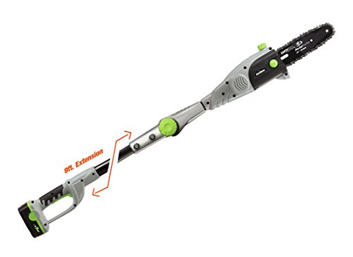 Earthwise CPS43108 8-Inch 18-Volt NiCad Cordless Electric Pole Saw