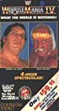 Wrestlemania 4 [VHS]