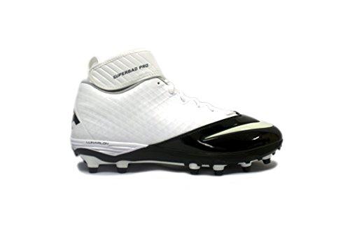 Calzado De Fútbol Nike Lunar Super Bad Pro Td Para Hombre Blanco / Blanco - Negro