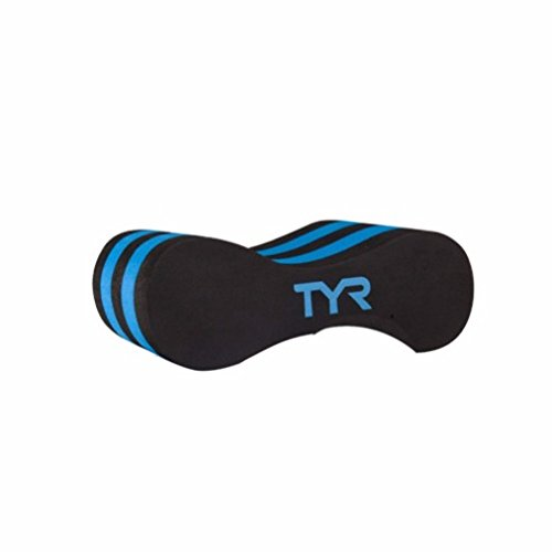 TYR Junior Pull Float, Blue/White