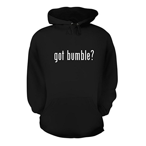 got bumble? - A Nice Men's Hoodie Hooded Sweatshirt, Black, (Bumble Hoodie Hat)