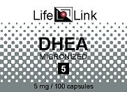 Mono DHEA 5mg LifeLink 100 Caps