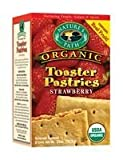Natures Path Un-Frosted Strawberry Toaster Pastry 11 Oz (Pack of 12)