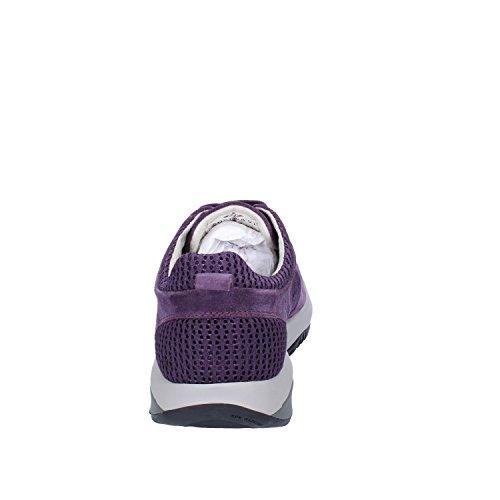 MBT Sneakers Mujer 38 EU Púrpura Gamuza Textil
