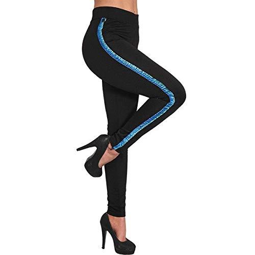 Pantalones Mujer Yoga Deporte Largo Otoño Invierno a Rayas ...