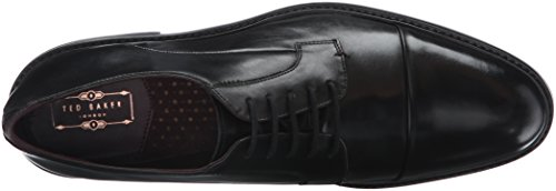 Ted Baker Hombres Aokii Oxford Black Leather