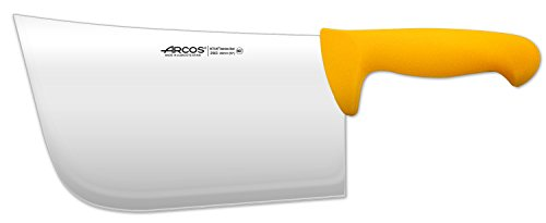 Arcos 10-Inch 250 mm 900 gm 2900 Range Cleaver, Yellow by ARCOS (Image #1)