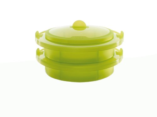 Lekue Layered Steamer, Green
