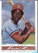 2003 Topps Gallery Hall of Fame Lou Brock Baseball Card #37