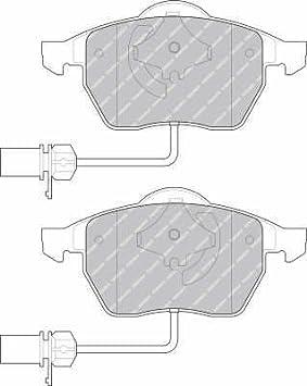 Brake Disc Pad Set Front Audi A4 A6 inc Sport Saab 9-5 Seat Exeo VW Passat