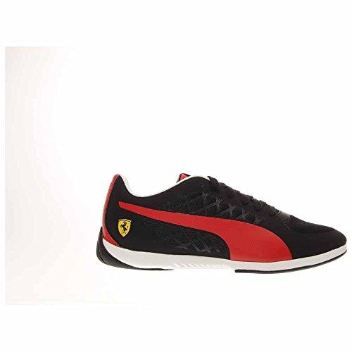 Puma Mens Valorosso 2 Driving Shoe Nero / Rosso Corcsa