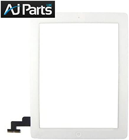 New Replacement Touch Screen Front Glass Digitizer Assembly iPad 2 White