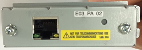 TM-U220D, Impact, two-color printing, 6 lps, Ethernet , Tear bar, RoHS, power supply (Part# C825343) , Dark gray -  Epson, C31C515A8541