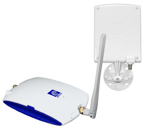 zBoost YX520-i Dual-Band Cell Phone Signal Booster for Home and Office - 900 and 1800 MHz - White  International by zBoost
