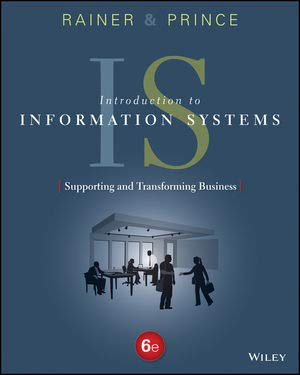 WileyPLUS Learning Space: Introduction to Information Systems Supporting and Transforming Business (Introduction To Information Systems Supporting And Transforming Business)