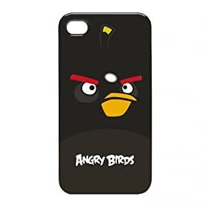 Gear4 Angry Birds Clip-On Case Cover for iPhone 4/4S - Black Bird by Gear 4