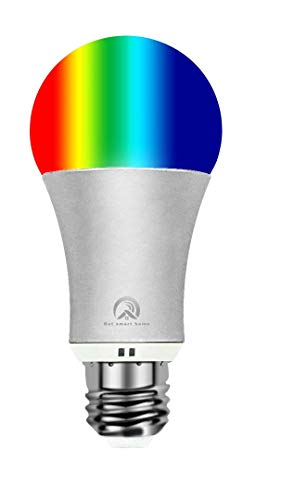 Hot Smart WiFi Bulb Colour Changing Remote Control by Smartphone IOS & Android Compatible with Alexa (Silver)