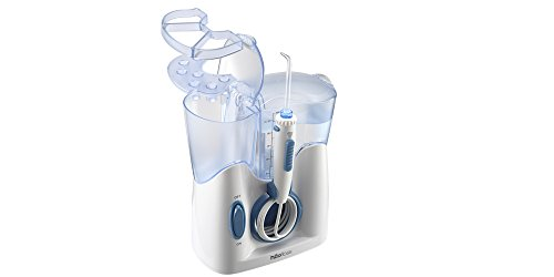 H2ofloss Dental Water Flosser for Teeth Cleaning With 12 Multifunctional Tips amp 800ml Capacity Professional Countertop Oral Irrigator Quiet DesignHF9 whisper