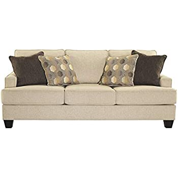 Amazon Com Benchcraft Brielyn Contemporary Sleeper Sofa