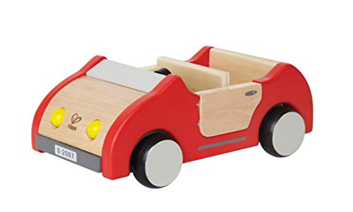 Hape Wooden Doll House Furniture Family Car Play Set ()