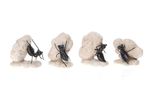 Dekofiguren Ameisen 4er Set