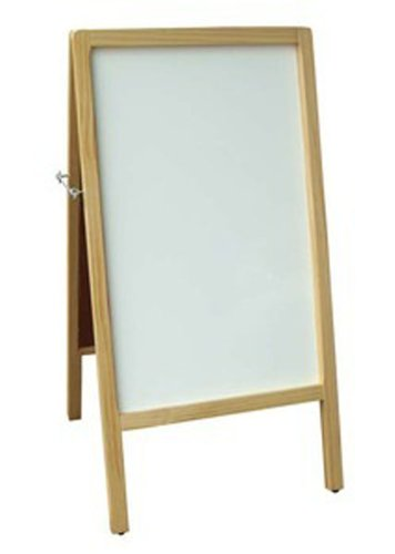 Amazon.com : Fantastic Displays A-Frame Dry Erase Board Double Sided ...