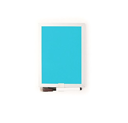 Kikkerland Mini Dry Erase Board, Assorted Colors (MH09-A)