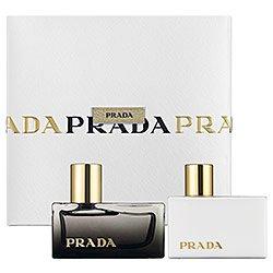 Prada L'Eau Ambree Perfume Gift Set 1oz EDP & 1.7 oz Body Lotion For Women