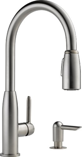 Peerless Stainless Steel Pull Down Faucet Pull Down