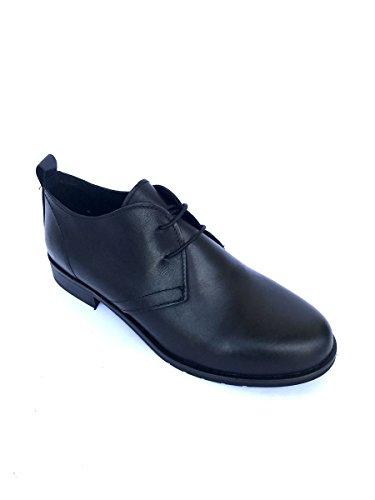 De Mujer Negro Para Piel Mocasines Zeta Shoes ZqpUwSZE