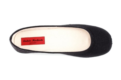 Medium 5 Canvas flats to Machado bow 5 36 sizes AM527 no with 3 45 UK Ballet EU to Black Small Andres 10 amp;Large gBn8OwfqWw