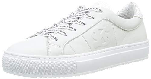Ikks Baskets Femme Sneakers Blanc 01 blanc wfOUqwSn