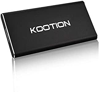 120GB SSD Portátil USB 3.0 KOOTION Disco Duro Externo Portable SSD ...