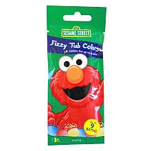 Sesame Street Tub Colors, Fizzy, 9 ct. (1 - Street Outlet Village