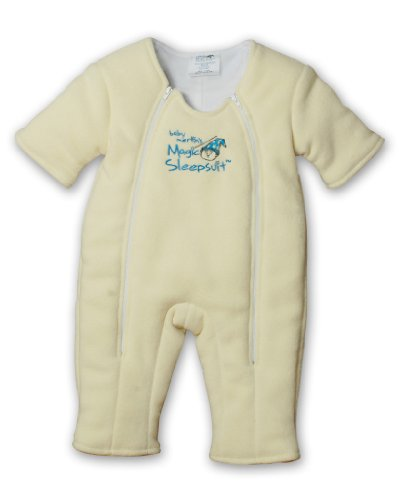 Baby Merlin's Magic Sleepsuit Microfleece - Yellow - 6-9 months (Baby Collection Sack)