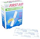 Butterfly Adhesive Wound Closure, Large, 2-3/4 Length x 1/2 Width - MS20110 (600)