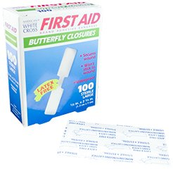 Butterfly Adhesive Wound Closure, Large, 2-3/4'' Length x 1/2'' Width - MS20110 (100)