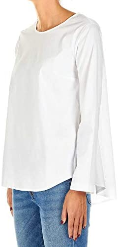 OBLÒ UNIQUE Luxury Fashion Donna IC004T06301 Bianco Elastan Blusa | Primavera-Estate 20